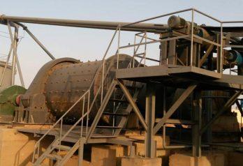 Gold CIL plant(500T) in Sudan