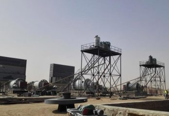 Gold CIL plant in Sudan