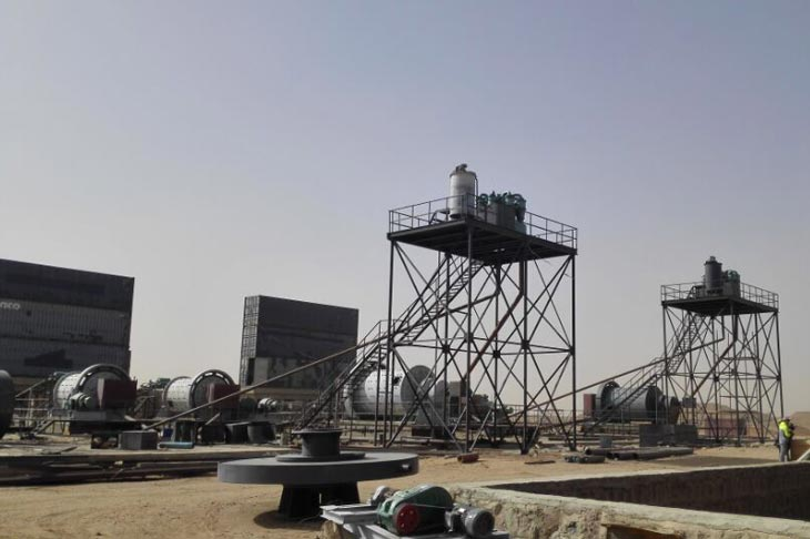 Gold CIL plant in Sudan